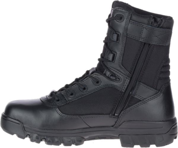 bates tactical boot 8 inch zipper side