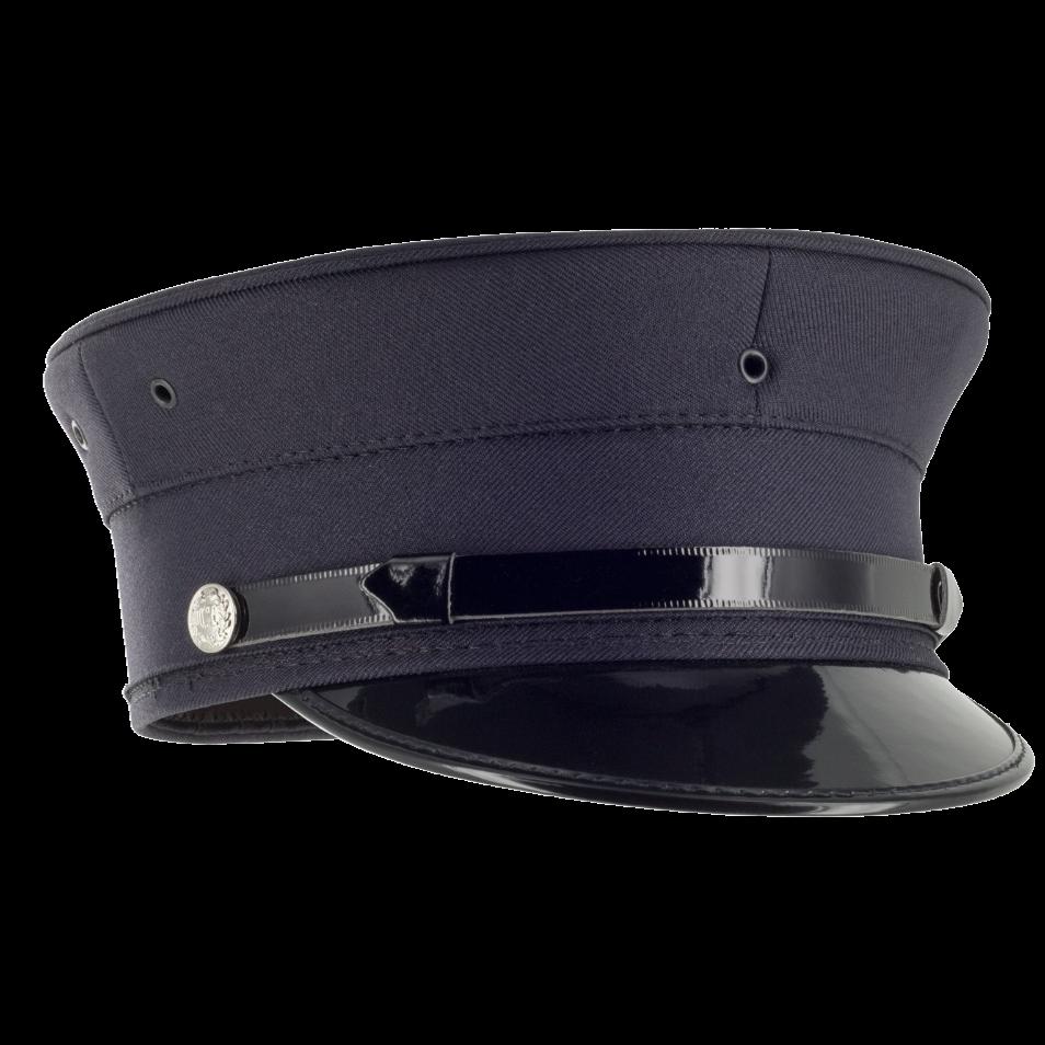 Navy Blue Fire Bell Crown Hat