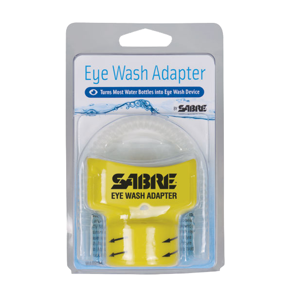 eye wash adapter